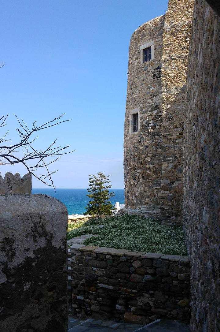 Venetian Castle in Naxos